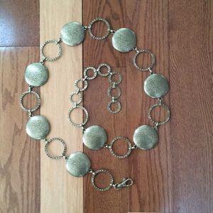 """Accessories - Metal belt/necklace 38-45"""""""